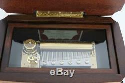 WONDERFUL REUGE CYLINDER MUSIC BOX large Ch3/72 Gorgeous Italian Case clock work