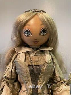 Xenis Collection Reuge WINTER Doll Fantasy Series Neiman Marcus Music Box